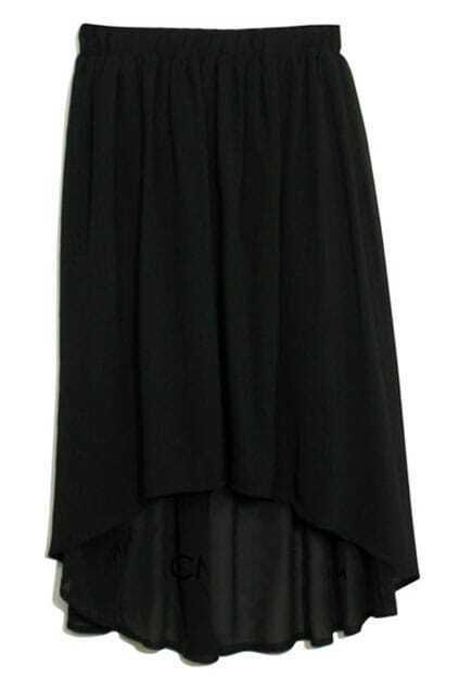 Anomalous Black Skirt
