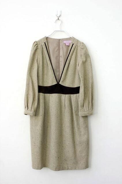 Draping Simple Dress