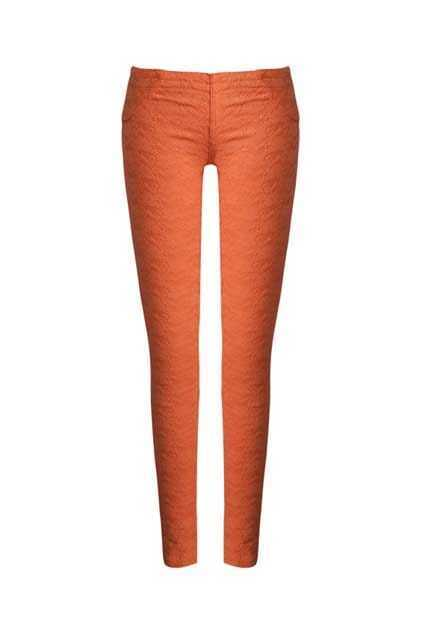 Lace Candy Orange Pants