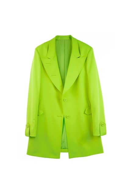 Slim Medium Style Green Blazer
