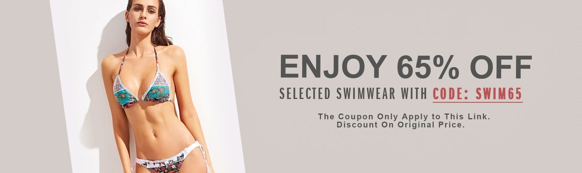 Swimwear Up To 65% Off