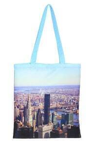 ROMWE New York Scenery Bag