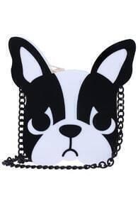 10×1 Brand Bulldog Shaped Bag