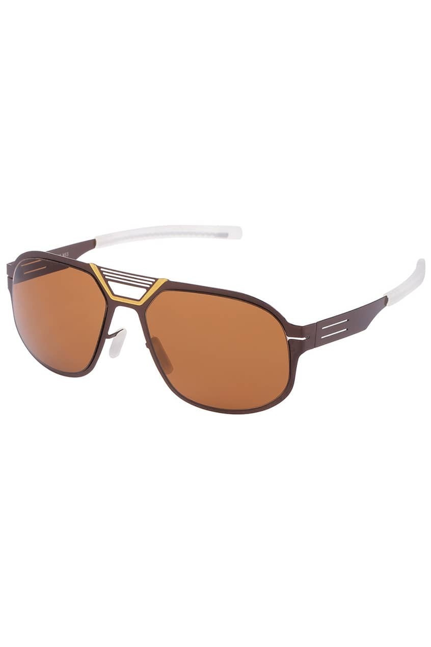 ROMWE Rimless Large Lens Sunglasses