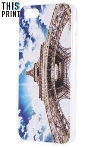 This Is Print The Eiffel Tower Print iPhone 5/5S Case