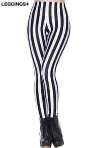 ROMWE Sexy Little Zebra Leggings