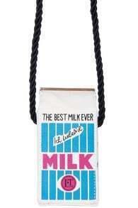 Milk Bottled Shaped Bag
