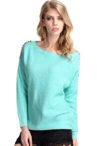 Gold-tone Riveted Mint Jumper