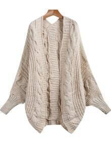 Cable Knit Loose Cardigan