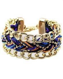 Golden Woven Bracelet