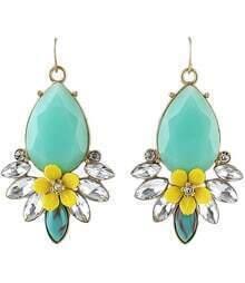 Green Jewelry Earring