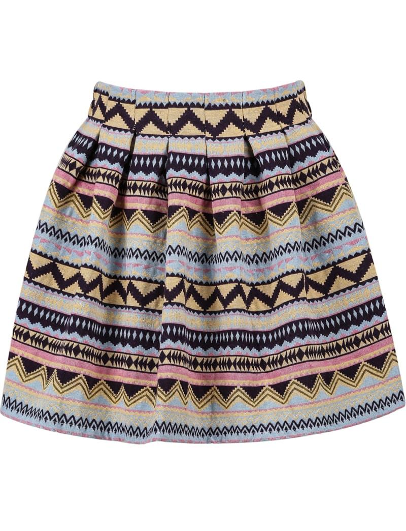 Tribal Print Skirt 77
