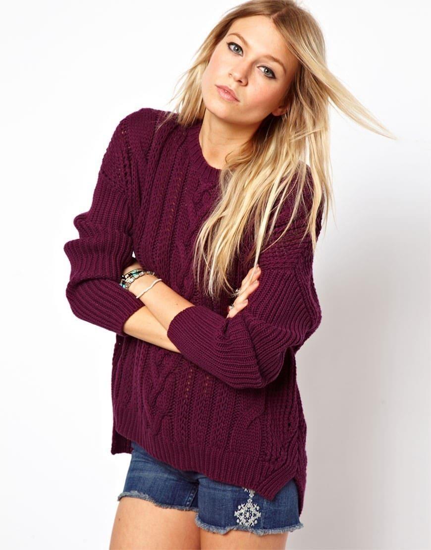 Модное вязание спицами модели для девушек