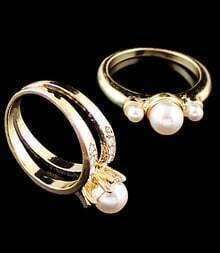 Diamante Korn-Ring