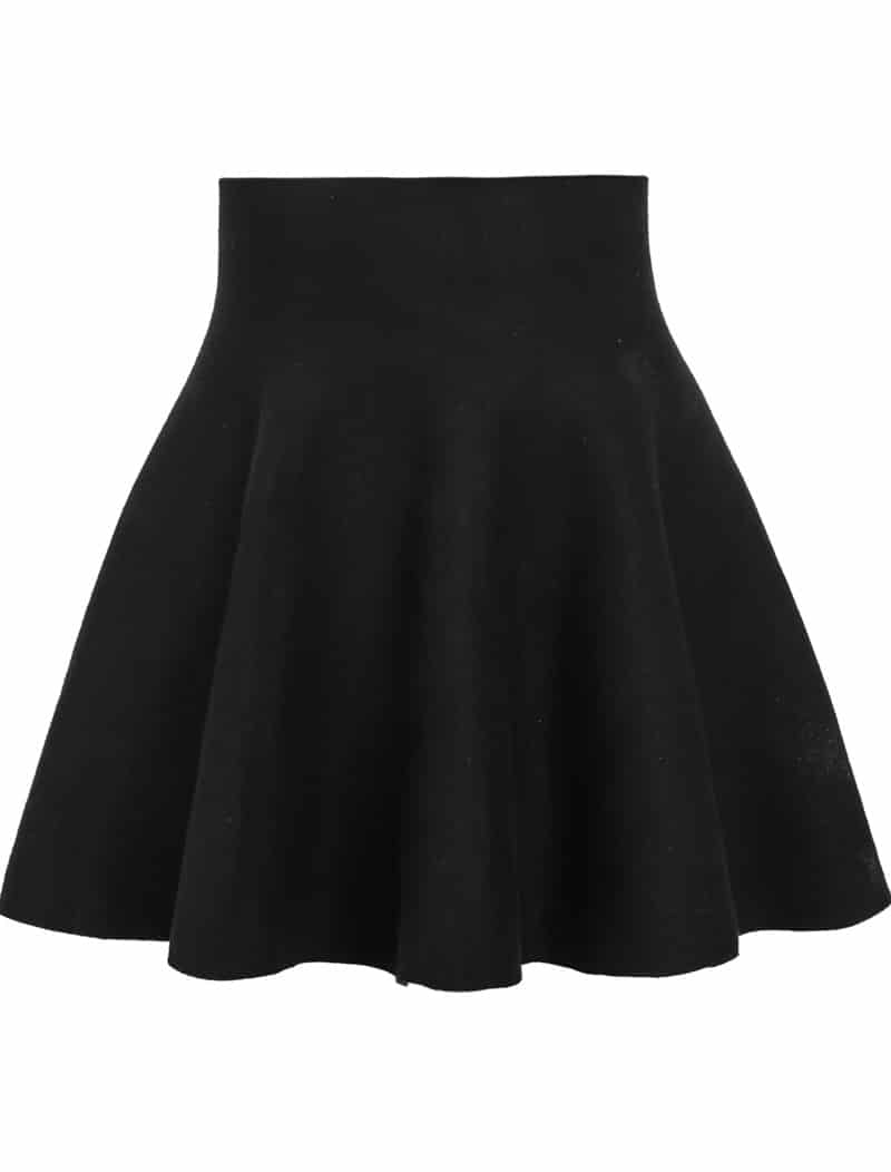 High Waist Skirt. A high-waisted skirt is a fashionable statement to make at the office or for dress and casual wear. Depending on the cut of the skirt, tons of styles can be created with the right top and shoes. This is a great way to show off pretty belts, making it a fun piece to accessorize.