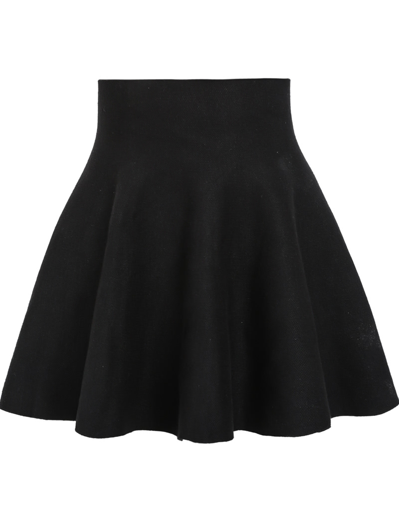High Waist Ruffle Skirt 58