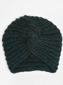 Vintage Knotted Knit Hat