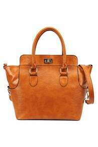 Light Brown Handle Bag