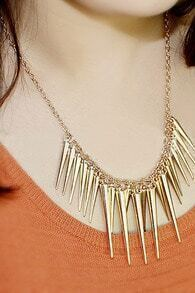 Spikes Pendant Necklace