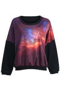Mysterious Universe Print Pullover