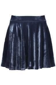 Velvet Fluid Skirt