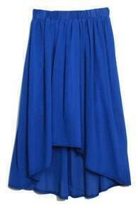 Anomalous Blue Skirt