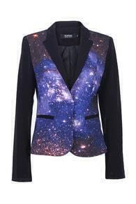 Universe Print Blazer