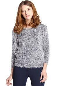 Loose Grey Jumper