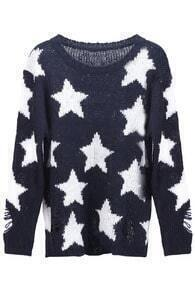 Stars Distressed Jumper