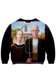 The Couple Print Sweatshirt