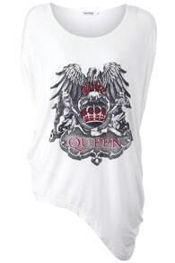 Anomalous Hemline Queen T-shirt