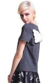 Dark Grey Wings T-shirt