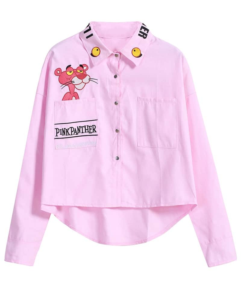 Pink Blouse Plus Size