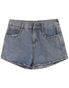 Vintage Rivet Denim Shorts