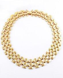 Fashion Gold Multilayer Necklace