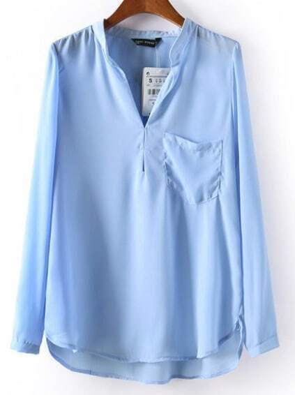 Collection Blue Blouse Pictures - Reikian
