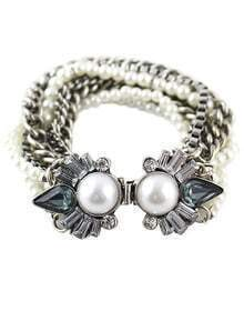 Bead Multilayers Chain Bracelet