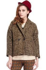 Classic Style Green woolen Coat