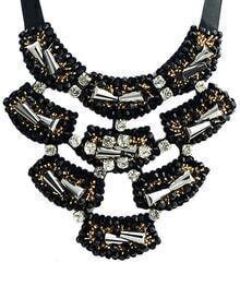 Black Diamond Chain Necklace