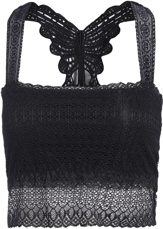 Strap Hollow Lace Black Lingerie