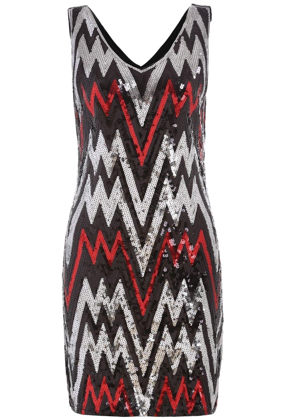 Vestido pico lentejuelas tubo rojo spanish romwe for Tubo corrugado rojo precio