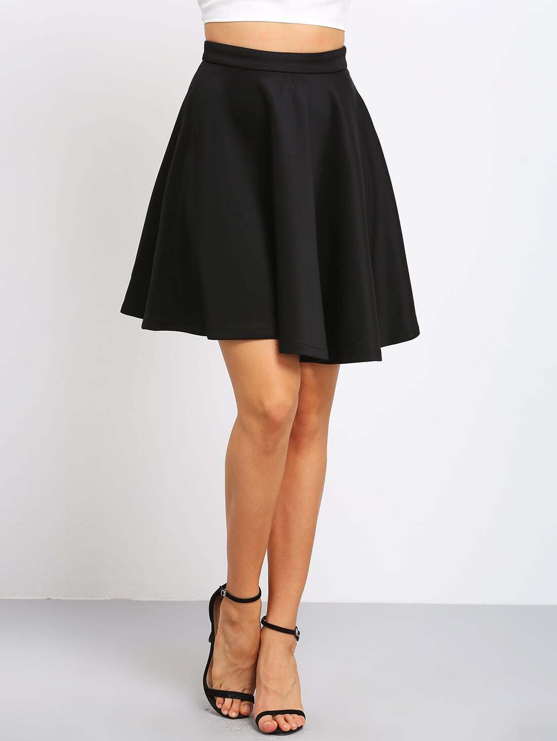 High Waisted Flare Skirt - Sex Movies Pron