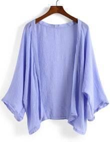 Bat Sleeve Loose Kimono