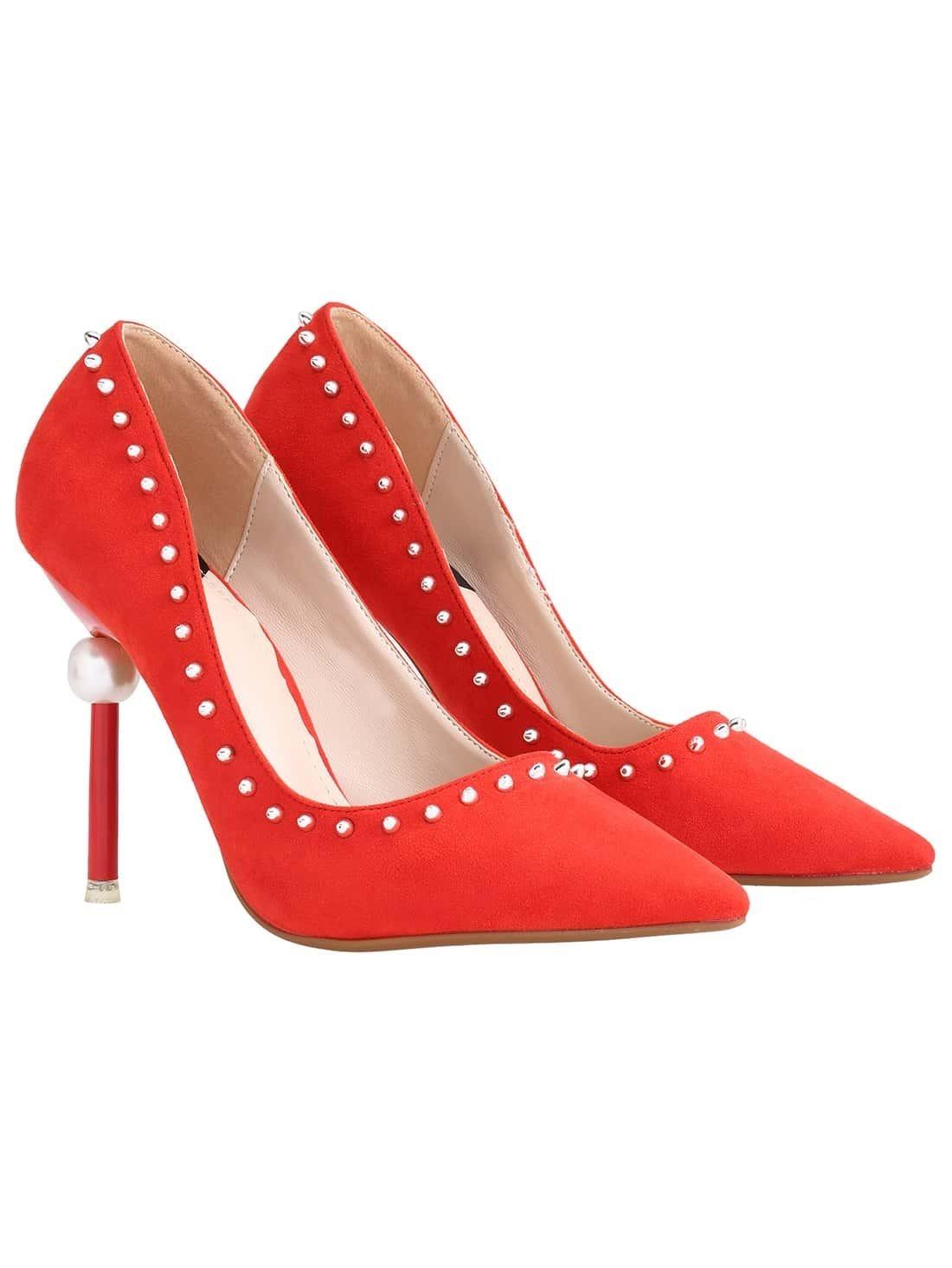 shoes-pumps- red pumps
