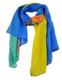 Fashion Colorful Pinted Lady Fashionable Scarf