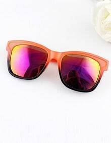Fashion Designer Frames Resin Plastic Sunglasses