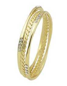 Popular Simple Style Gold Plated Women Bangle Ser