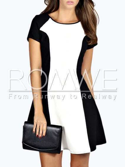 http://www.romwe.com/Black-White-Short-Sleeve-Color-Block-Dress-p-125100-cat-664.html?utm_source=psiuganhouaquii.blogspot.com.br&utm_medium=blogger&url_from=psiuganhouaquii