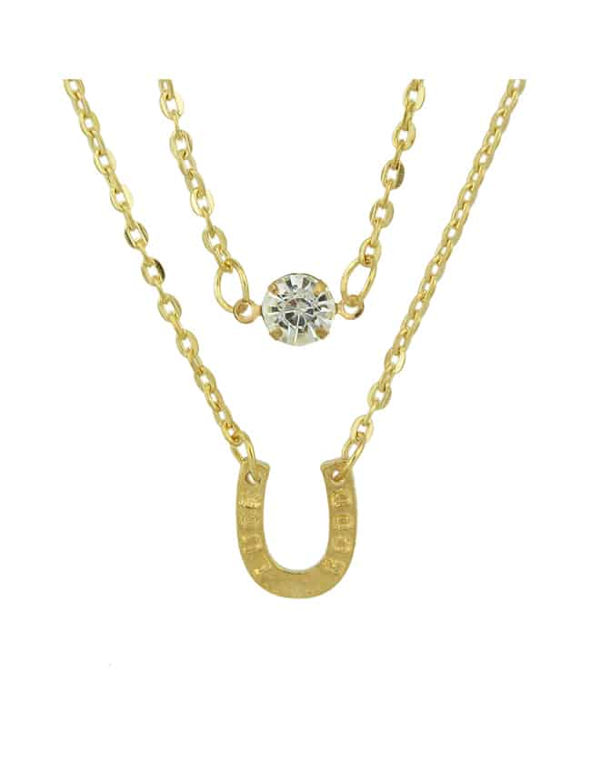 Позолоченные Многослойные Цепи Ожерелье Для Женщин