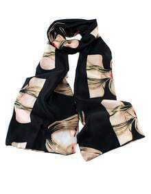 Fashyle Beautiful Girl Printed Knitted Scarf